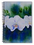 Orchid Blast Spiral Notebook