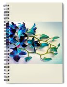 Orchid Bouquet Spiral Notebook