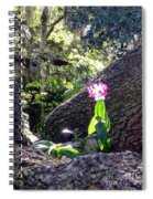 Orchid In Tree 2 Spiral Notebook