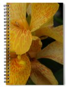 Canna Lily Spiral Notebook