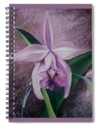 Orchid Lalia Spiral Notebook