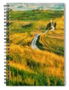 Orcia Valley Spiral Notebook