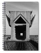 Ore Dock Marquette Michigan Spiral Notebook