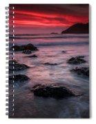 Oregon Afterglow Spiral Notebook
