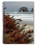 Oregon Beach Spiral Notebook