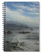 Oregon Coast Ecola 1 F Spiral Notebook