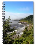 Oregon Coastline Spiral Notebook