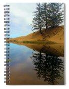 Oregon Dunes Pond Spiral Notebook