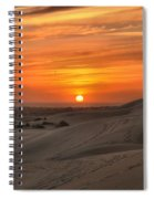Oregon Dunes Sunset Spiral Notebook