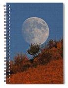 Oregon Moon Spiral Notebook