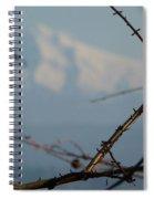 Oregon Nature Frames Mountain Spiral Notebook