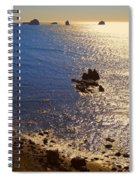 Oregon State Pacific Coast Spiral Notebook