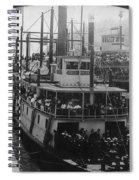 Oregon Steamboat, C1906 Spiral Notebook