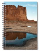 Organ Formation, Arches National Park Spiral Notebook