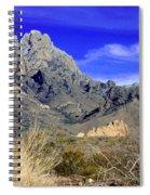 Organ Mountain Frosty Top Spiral Notebook