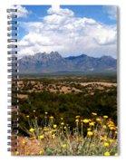 Organ Mountain Splendor Spiral Notebook