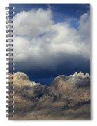 Organ Mountains New Mexico Spiral Notebook