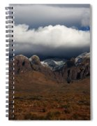 Organ Mountains New Mexico Spiral Notebook