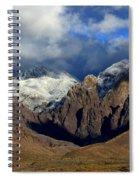 Organ Mountains Rugged Beauty Spiral Notebook