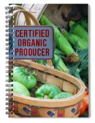 Organic Spiral Notebook