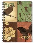 Organic Nature 1 Spiral Notebook