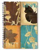 Organic Nature 3 Spiral Notebook