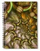 Organic Playground Spiral Notebook
