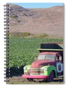 Organic Strawberries Spiral Notebook