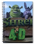Ogre Vision Spiral Notebook
