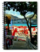 Orient Beach Peek Spiral Notebook