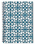 Orient Blue And White Interlude Spiral Notebook