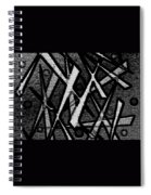 Oriental Abstract Spiral Notebook