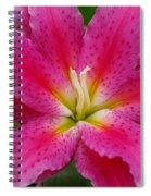 Oriental Lily Spiral Notebook