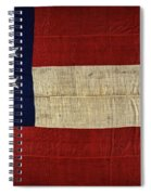 Original Stars And Bars Confederate Civil War Flag Spiral Notebook