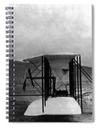 Original Wright Airplane, 1903 Spiral Notebook