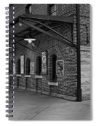Oriole Park Box Office Bw Spiral Notebook
