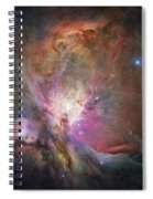 Space Hollywood 2 - Orion Nebula Spiral Notebook