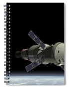 Orion Service Module Spiral Notebook