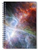 Orion's Rainbow Of Infrared Light Spiral Notebook