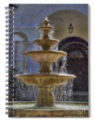 Ormond Water Fountain Spiral Notebook