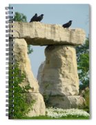 Ornamental Crows Spiral Notebook