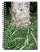 Ornamental Grass Spiral Notebook