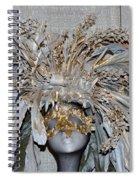 Ornamental Mask Spiral Notebook