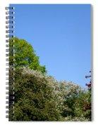 Ornamental Skyline Spiral Notebook