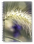 Ornamental Sweet Grass Spiral Notebook