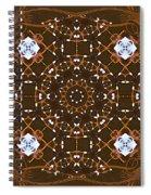 Ornamental Zen Tranquility Spiral Notebook