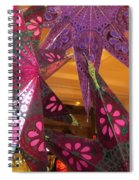 Ornamented Stars Spiral Notebook