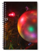 Ornaments-1942-happyholidays Spiral Notebook
