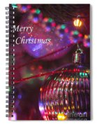 Ornaments-2052-merrychristmas Spiral Notebook