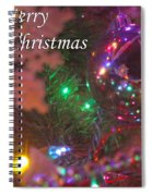 Ornaments-2090-merrychristmas Spiral Notebook